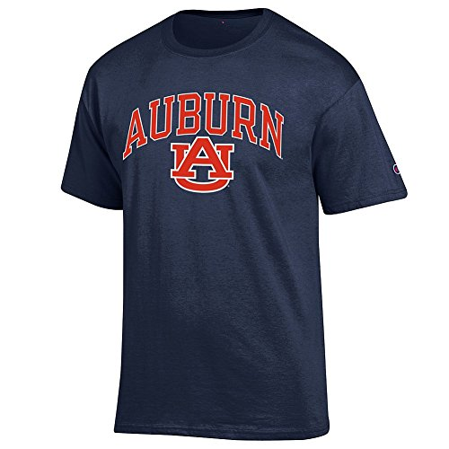 Elite Fan Shop Auburn Tigers Tshirt Varsity Navy - ()