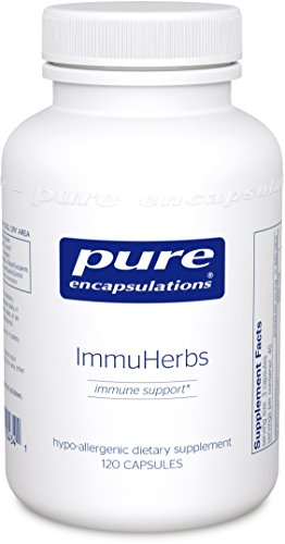 Pure Encapsulations - ImmuHerbs - Hypoallergenic Herbal Immune Support Combination* - 120 Capsules by Pure Encapsulations