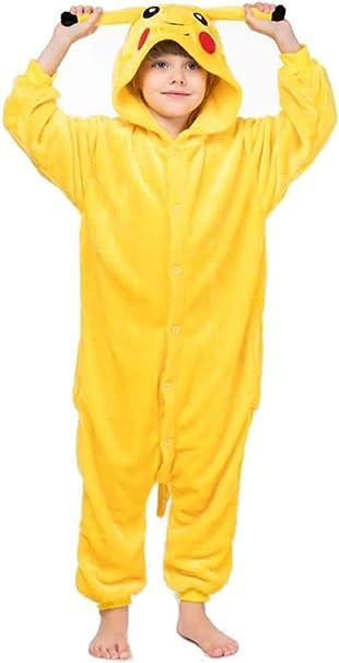 Unisexe Enfants Animal D/'une Seule Pièce Pyjama Cosplay Costume Noël Pyjamas Cadeau
