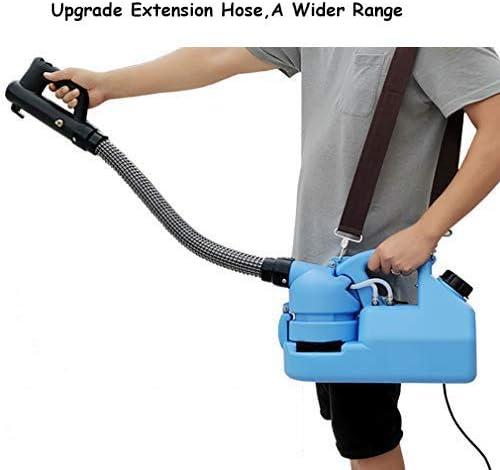 インテリジェント ポータブル 噴霧器,電動 ULV フォガー,蚊 キラー,消毒 フォガー,滅菌 フォガー 大きいのための 領域 青い 7l