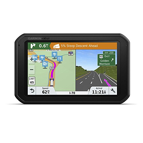 LMT-S GPS Truck Navigator with Built-in Dash Cam, 010-01856-00 ()