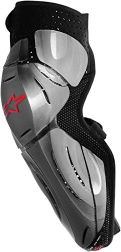 (ALPINESTARS Guard Bionic Sx Knee Xs / S - Black / Gray X-Small/Small)