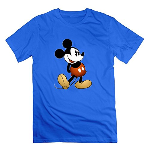 Mickey Mouse 11 Chic Shirts X-large Men Custom Blue (Mickey Mouse Costume For Men)