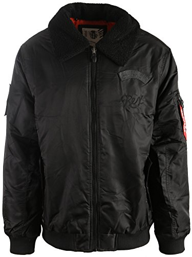 Grenade Flight w/Sherpa Collar Snowboard Jacket Mens