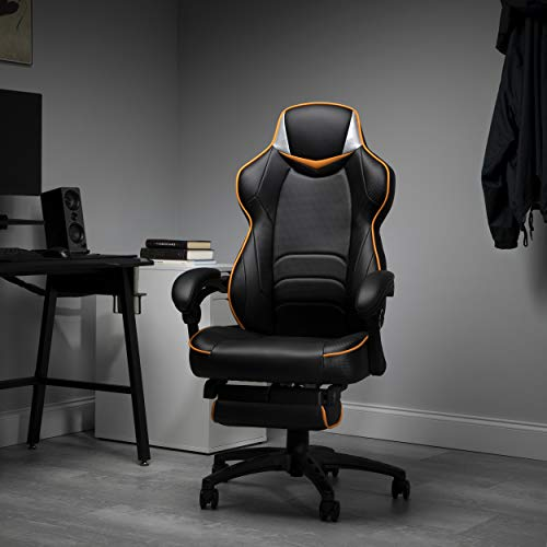 Fortnite OMEGA-Xi Gaming RESPAWN by OFM Reclining Ergonomic Chair with Footrest,