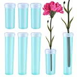 WXJ13 50 Pcs 4CM Flower Water Tubes and 25 Pcs 7CM Flower Nutrition Tubes for Flower Arrangements