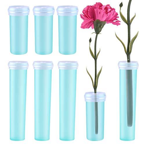 WXJ13 50 Pcs 4CM Flower Water Tubes and 25 Pcs 7CM Flower Nutrition Tubes for Flower Arrangements by WXJ13