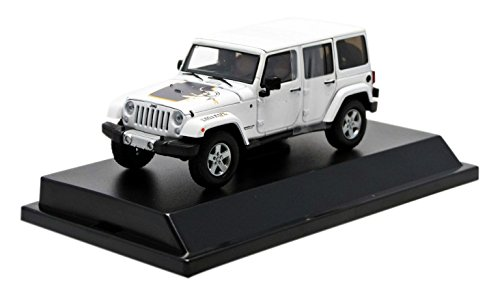 1/43 2011 Jeep Wrangler Unlimited - Mojave Edition(ブライトホワイト) 86074
