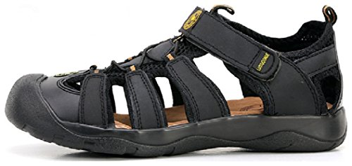 Hiking Hanxue Sandals Mens Shoes Sandals Black Sport Hq50q1w
