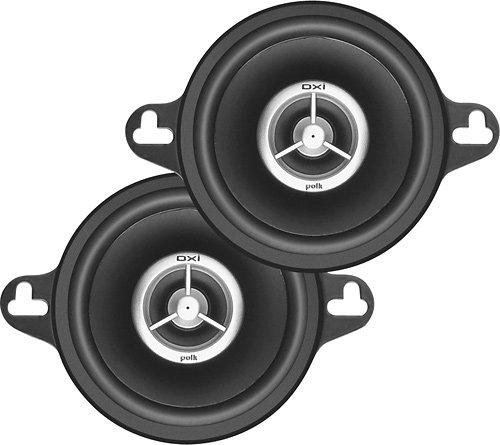 Polk Audio - 3-1/2 Coaxial Speakers (Pair)DXi 350