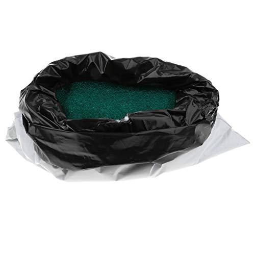 B Baosity 1kg おもちゃ 結晶 水ビーズ 弾丸水戦争ゲーム DIY キット 緑色