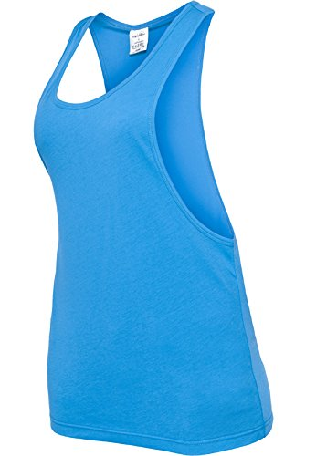 Ladies Loose Tank turquoise XL