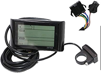 Electric Bike Bicycle LCD Display Meter Control Panel Cycling Conversion Kits US