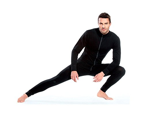 Pleas Men's Thermal Overall - All In One Suits Bodysuit Jumpsuits Men, 4XL by Pleas