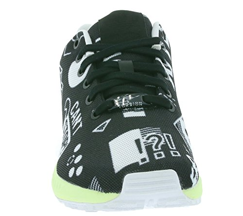adidas Trainers Men's adidas Flux Trainers Schwarz Flux Men's Schwarz Flux adidas Men's 4wBqpSO