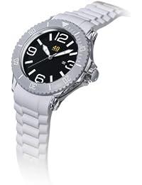 Unisex 40NINE03/WHITE Medium 40mm Analog Display Japanese Quartz White Watch