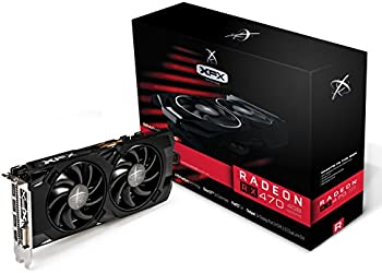 XFX Radeon RX 470 Black Edition 4GB Video Card
