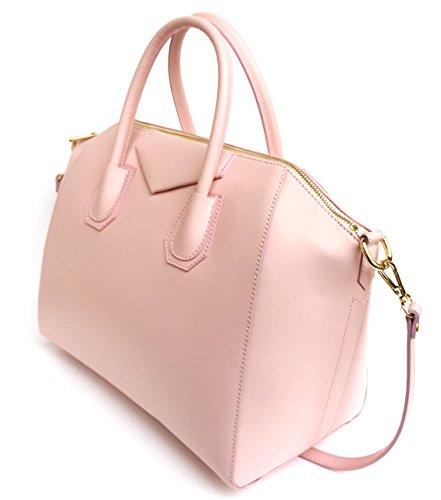 Superflybags - Bolso de asas para mujer XL rosa