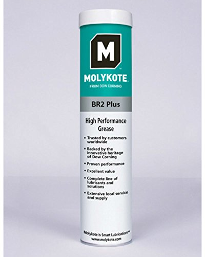 (Molykote® BR-2 Plus High Performance Grease 14 oz Cartridge)