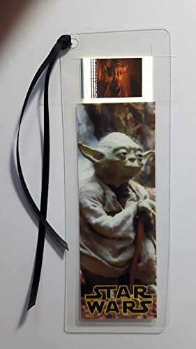 STAR WARS YODA Movie Film Cell Bookmark - Complements dvd poster book -