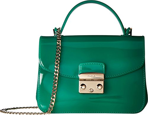 Furla Women's Candy Meringa Mini Crossbody Smeraldo One Size - Furla Accessories