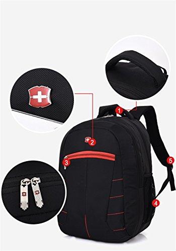Business Freizeit Reisen Rucksack Männer High School Junior High School Buch Tasche Computer Tasche 2 iVPTZ5a
