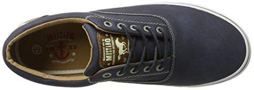 Homme Bleu Mustang Basses Dunkelblau 303 Bleu 800 4101 800 Sneakers 0AqAxrXw