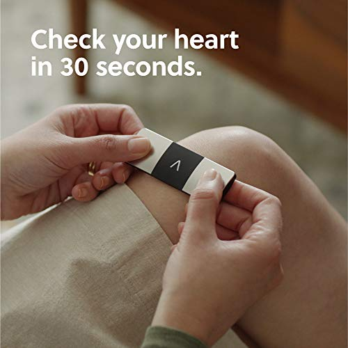 AliveCor KardiaMobile 6L   FDA-Cleared   Wireless 6-Lead EKG   Works with Smartphone   Detects AFib or Normal Heart Rhythm in 30 Seconds 41h79dRexJL