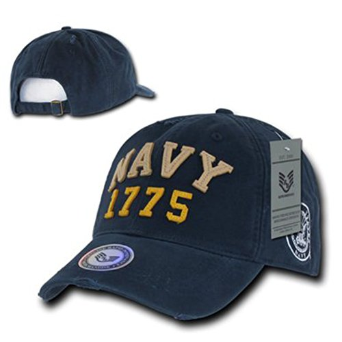 us-navy-1775-vintage-athletic-military-baseball-cap-hat-color-navy-fitting-type-snug-fit-100-washed-