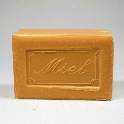 - 250 Gram Bar of Olive Oil Based Soap, Honey Scented