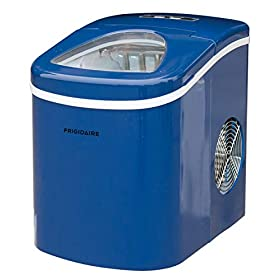 Frigidaire Portable Compact Maker, Counter Top Ice Making Machine, 26lb per day
