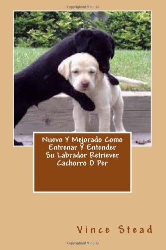 Nuevo Y Mejorado Como Entrenar Y Entender Su Labrador Retriever Cachorro O Per: Amazon.es: Vince Stead: Libros