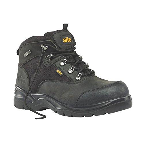 Baustellen Onyx Sicherheit Stiefel Schwarz Größe 12