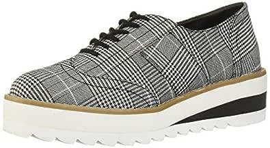Madden Girl Women's Andria Shoe, Plaid, 6 M US