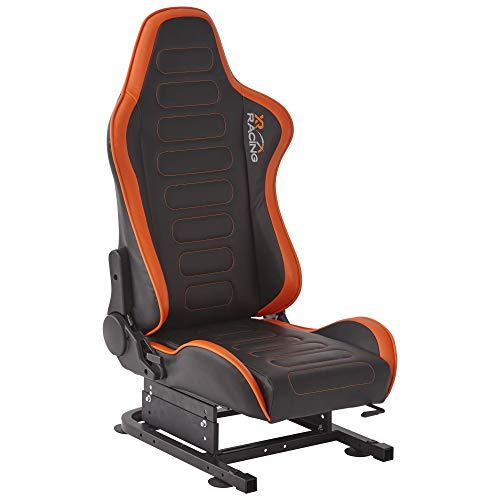XR Chicane Racing Seat Including Bracket - Black