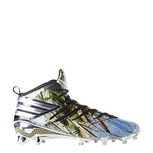 Adidas Freak X Kevlar Klampe Mænds Fodbold Sort-platin-hvid GAoIhh