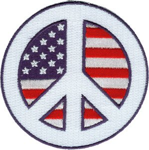 Peace Flag Patch - 9