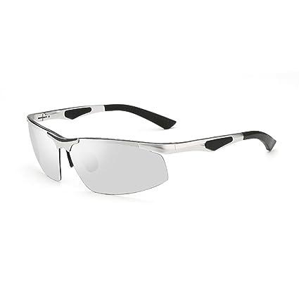 YQ QY Gafas De Sol para Hombre Gafas Polarizadas Gafas De Conducción Pesca Protección Solar (