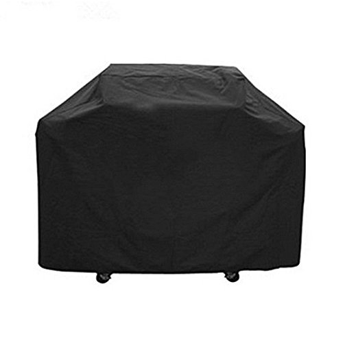 COCODE Universal Grill Cover Heavy Duty Durable Waterproof BBQ Gas Grill Cover for Outdoor &Indoor Garden Patio Grill Protection Black (67