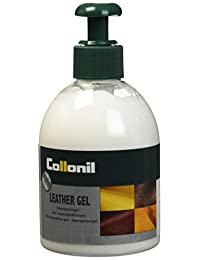 Collonil Leather Gel 230ml - Waterproofing and Conditioning Gel - Protection and Care for Handbags,Shoes and Clothing Made of Leather, Suede and Textiles - Premium Quality – Environmentally Friendly