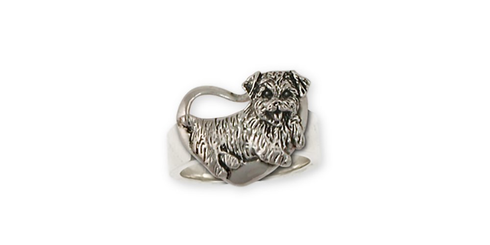Esquivel-and-Fees-Norfolk-Terrier-Jewelry-Sterling-Silver-Norfolk-Terrier-Ring-Handmade-Dog-Jewelry-NF11-R