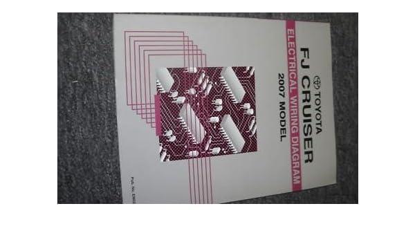2007 Toyota Fj Cruiser Electrical Wiring Diagram Service Shop Repair Rhamazon: Fj Cruiser Wiring Diagram At Gmaili.net