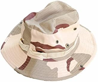 63d3dcf6ea9 Amazon.com   Desert Camo Boonie Hat - Great hat for Sun Protection ...