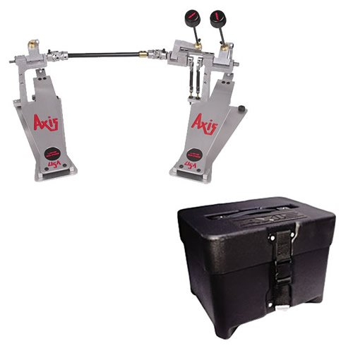 AXIS XL2 Double Kick Bass Drum Pedal w/Hardshell Case X-L2 NEW