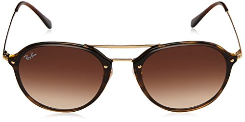 Ray-Ban 0rb4292n710/1362blaze Doublebridge Square Sunglasses, Light Havana, 62 mm by Ray-Ban (Image #2)