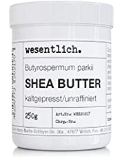 wesentlich masło shea tłoczone na zimno 250 g – 100% czyste i nierafinowane – czysta pielęgnacja lub doskonała baza do wysokiej jakości produktów do pielęgnacji.