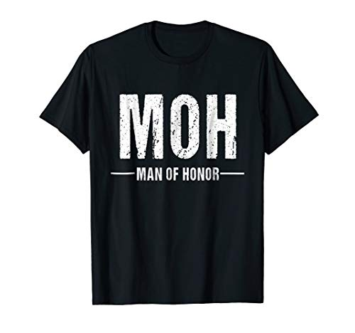 Man of Honor Shirt for Wedding