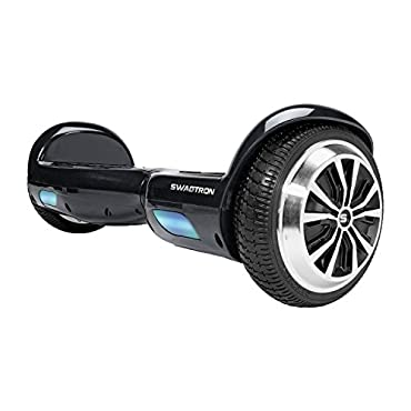 Swagtron Swagboard Twist T881 Lithium-Free and Ul2272 Certified Hoverboard, Black, One Size