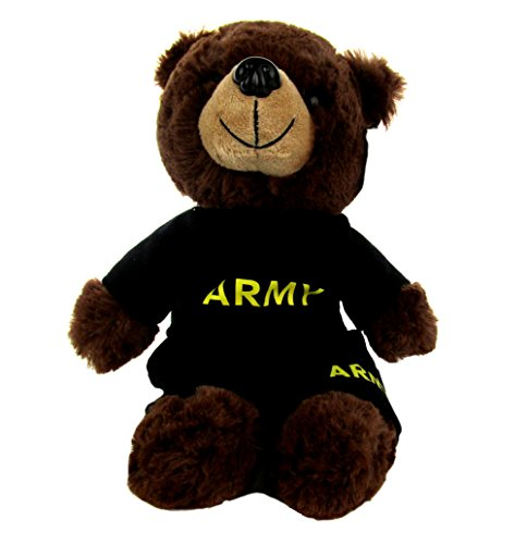 Army PT Outfit with Dog Tag on Stuffed Plush ()