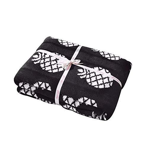 Brandream Pineapple Throw Blankets Decorative Blankets for B